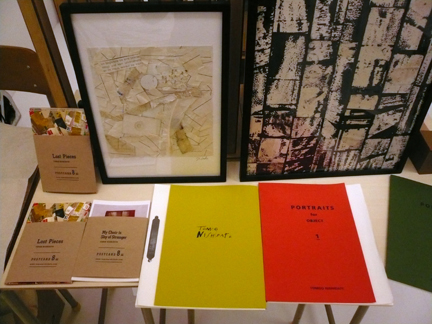 Nishidate-san's mixed media zines and prints...
