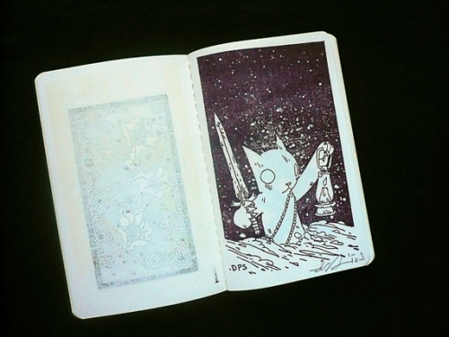Deth Sun's rubber stamp...