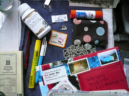 mail art is a constant work-in-progress...