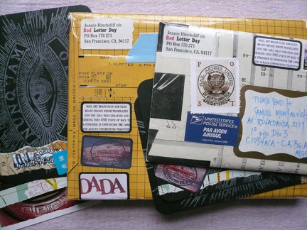 envelopes of dada deliciousness!