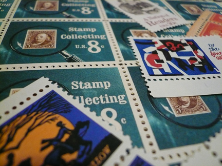 a few of my favorite things, postage-wise...