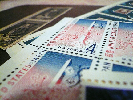 "these are some of my favorite ""oldster"" stamps..."