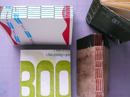 lonstitch binding samples -- your books could look like this...
