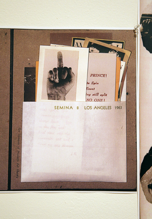 """""""Semina"""" close up, 1961..."""