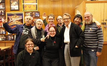 Mail Art Mayhem gathering, October 2011