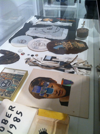 ray johnson collages and mailings...