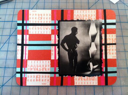 isamu noguchi & washi tape - outgoing mail...
