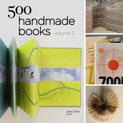 """500 handmade books: volume 2"", by Julie Chen"