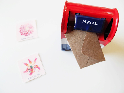 shown: envelope punch via the paper pastries website