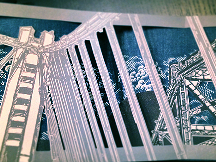 multiple layers, two different bridges...